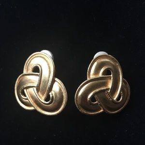 Jewelry - Vintage Infinity Runway Earrings